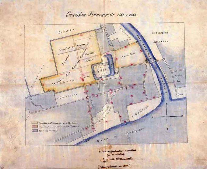 Le consulat et la municipalité française de Shanghai (1849-1946) — Chine Informations