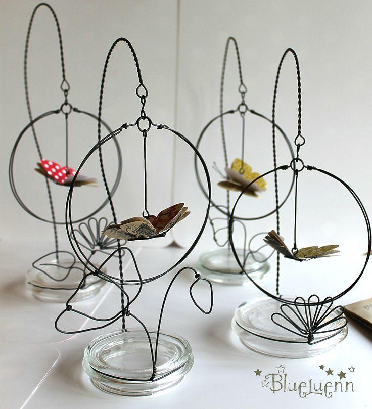 cute butterfly holders
