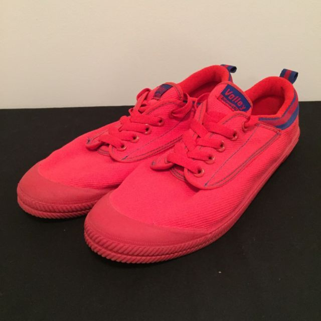 Volley Christmas Edition Canvas Tennis Sneakers Shoes Red Blue Mens US 10 UK 9 | eBay