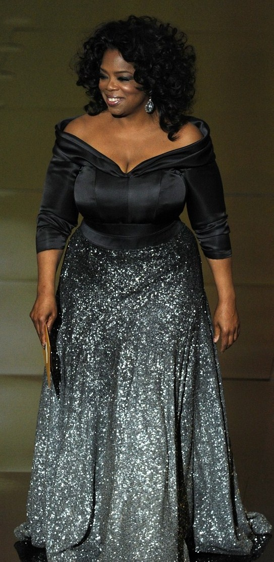 Oprah in Zac Posen