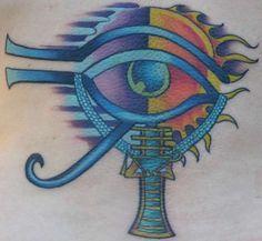 Egyptian Eye Tattoos on Pinterest   Evil Tattoos Eye Tattoos and ...