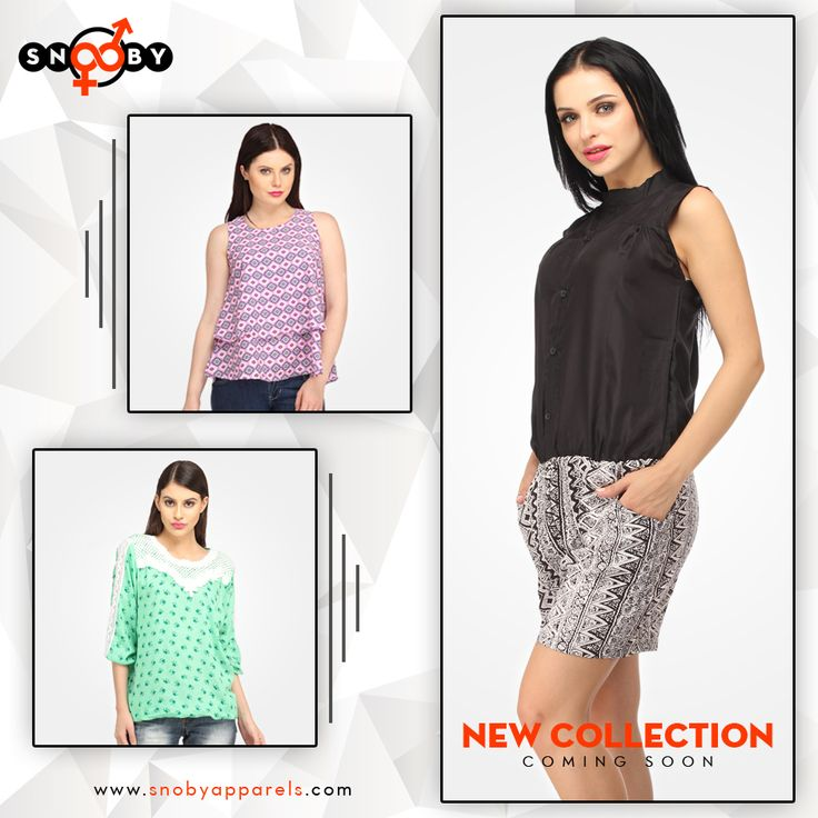 The latest #fashion collection, including women's clothing, Men's fashion, jewelry, accessories & more is coming soon. Stay tuned your exclusive fashion space: www.snobyapparels.com