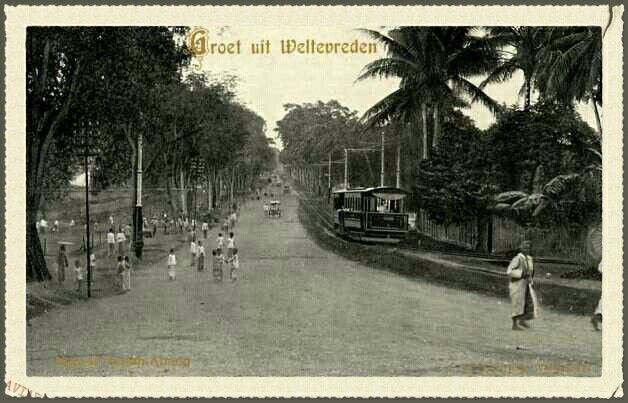 Tanah Abang Boekit Batavia 1881.