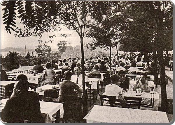 ✿ ❤ Perihan ❤ ✿ Bir Zamanlar İSTANBUL...Maçka & Taşlık Çay Bahçesi (1960'lar).