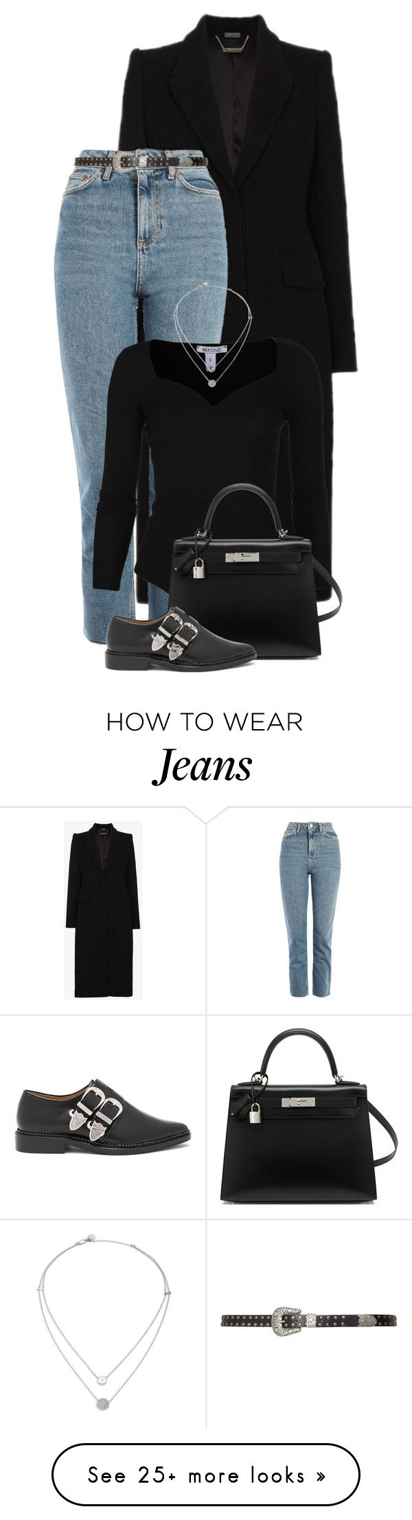"""Untitled #2441"" by lullilia on Polyvore featuring Alexander McQueen, Topshop, Zizzi, Hermès, Toga and Michael Kors"