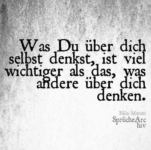 #spruch #wasdudenkst #wirstdu