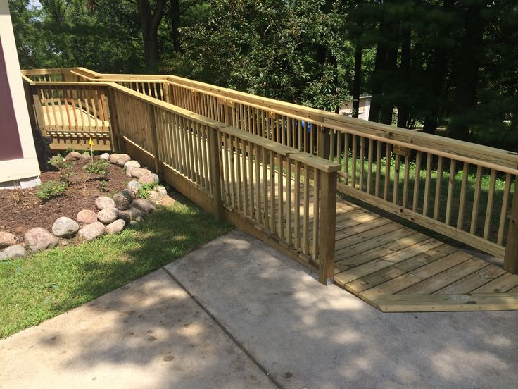 Wheelchair Ramps Wood Metal Concrete Amp Landscaping