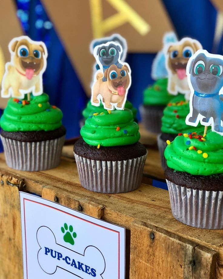 Really Cute Puppy Dog Pals Pup Cakes Puppy Birthday Parties Puppy Birthday Dog Birthday Party