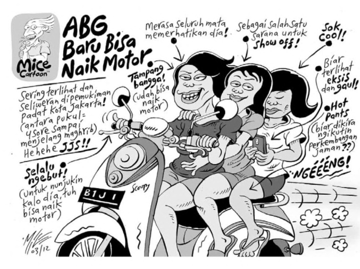 ABG Baru Bisa Naik Motor (Benny and Mice)