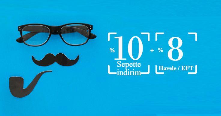 #pazartesi #kampanya #indirim Babalar gününe özel kampanya.. Sepette %10 + Havale / EFT %8 indirim..