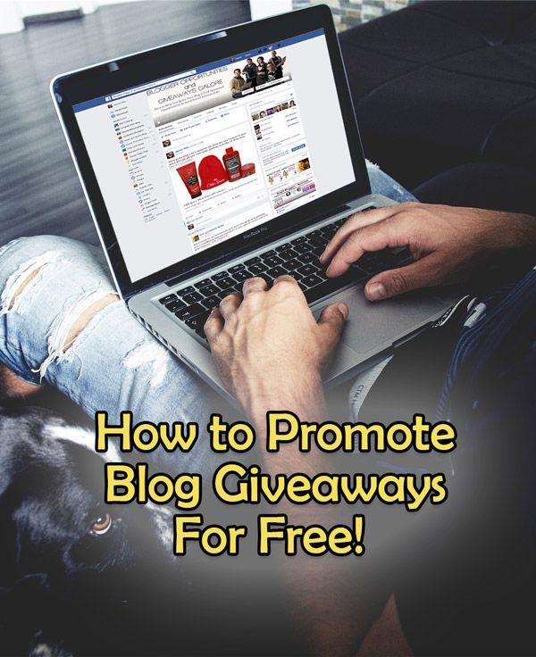 Looking for ways to promote your contest or giveaway? Here's a list of places and methods to use so you can promote your giveaway without spending money to do it.