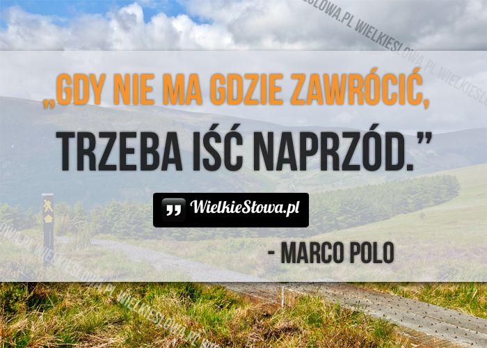 Gdy nie ma gdzie zawrócić... #Polo-Marco,  #Droga-i-wędrówka