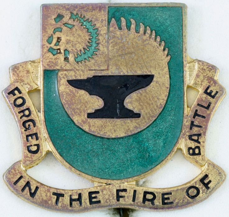 4th Tank Battalion Crest
