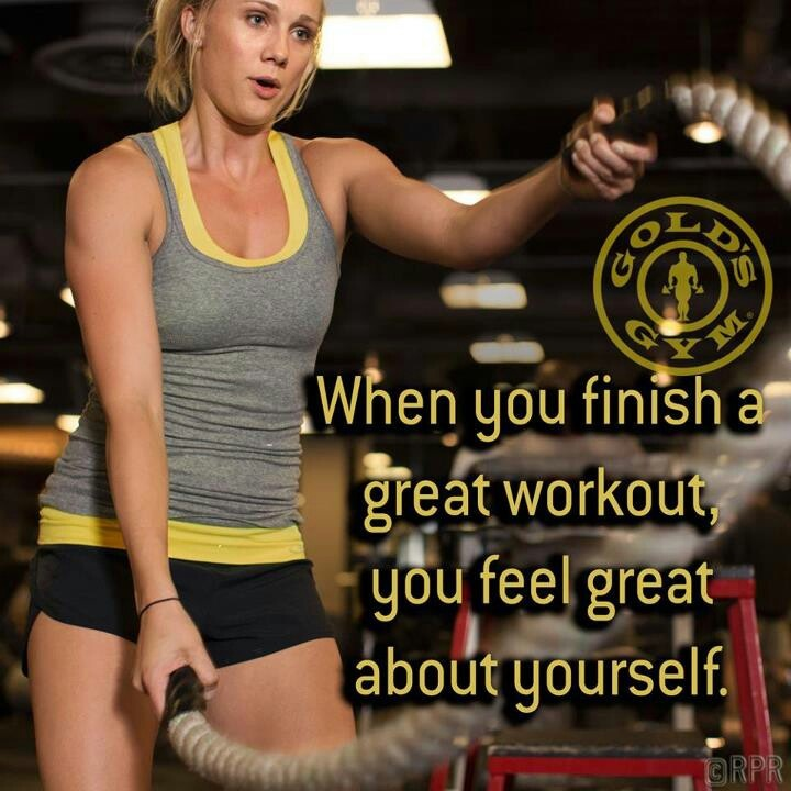 Gold's Gym! 2 weeks down into working out here..its been great!
