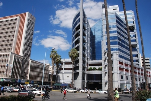Downtown Harare, Zimbabwe