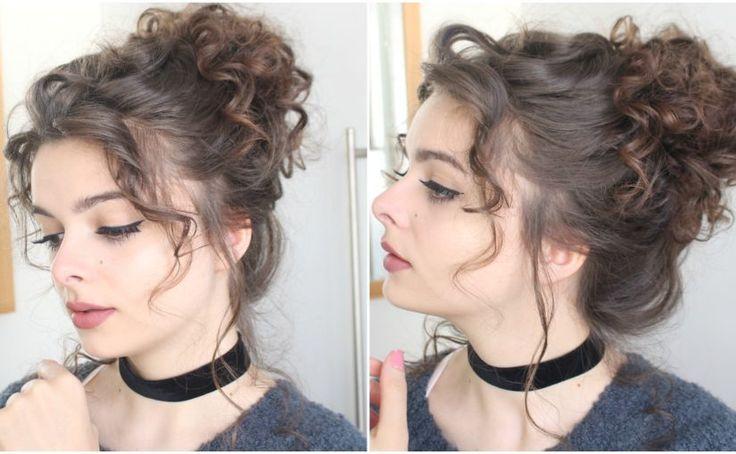 Giant messy curly bun tutorial http://rnbjunkiex.tumblr.com/post/157432031037/more