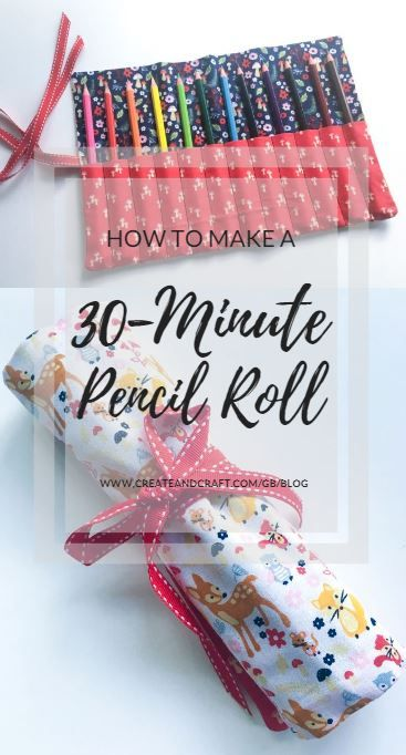 How to do a 30 minute pencil roll   – projects