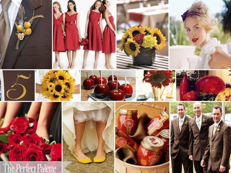 yellow dress red apples inside