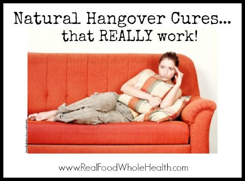 Natural Hangover Cures That Really Work- Home Remedies for Hangovers