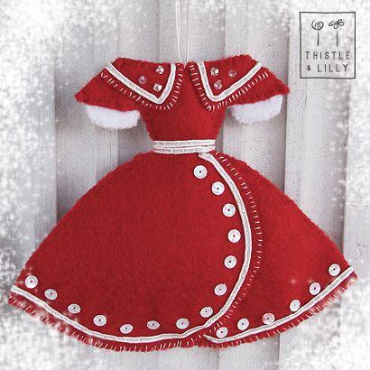 Idea. Vestido de fieltro