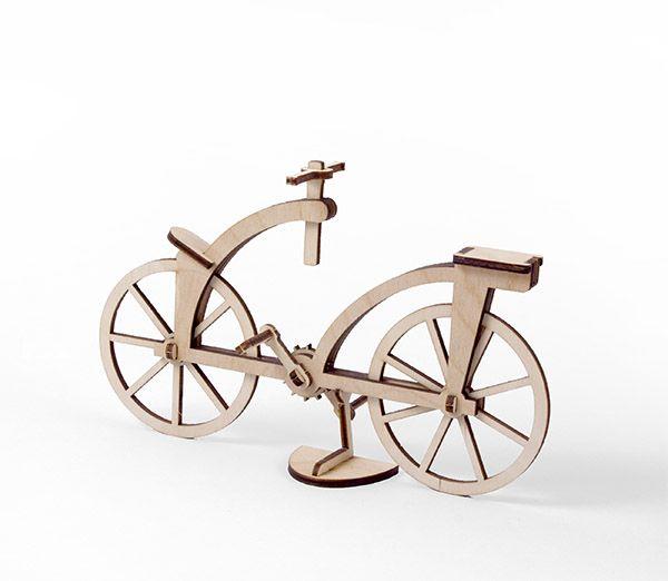Leonardo's Bycicle Birch Plywood