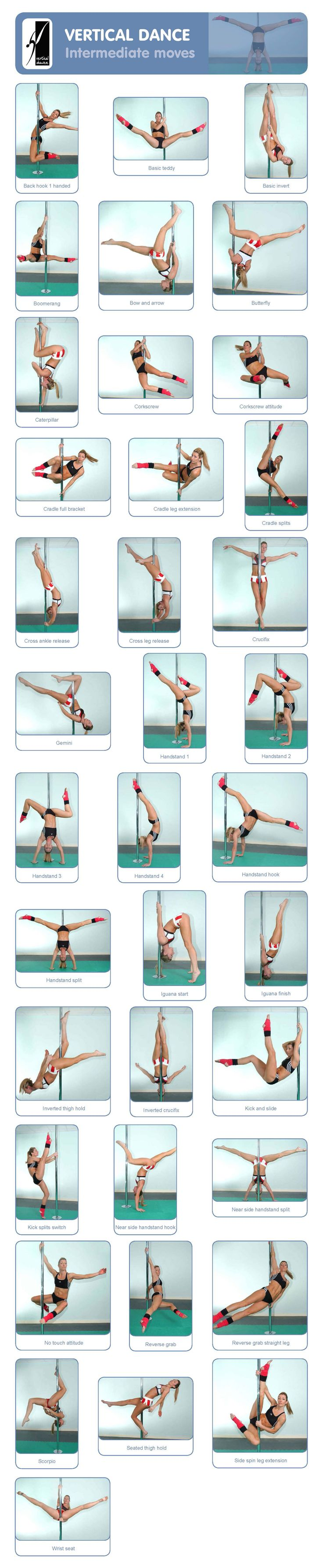 Pole: Intermediate moves