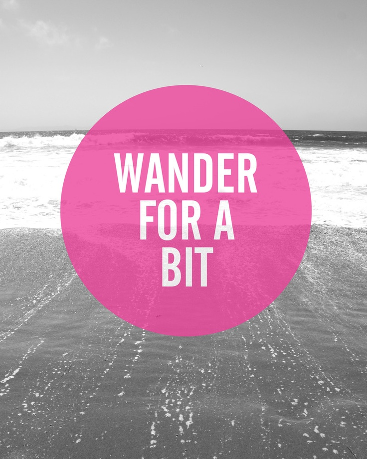 Wander For A Bit by December Baby Designs