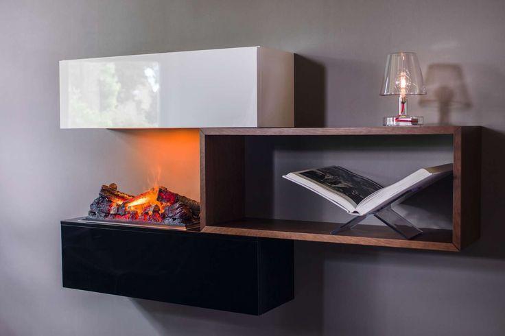 Elektrischer Kamin Deko Ideen : ... Designer Couch, Elektrisches ...
