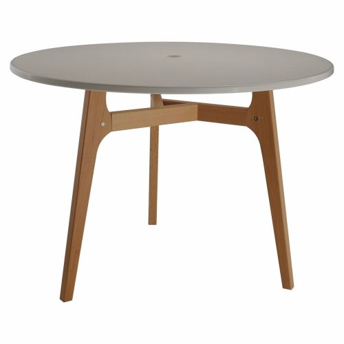 Столы кухонные деревянные круглые - на трех ножках