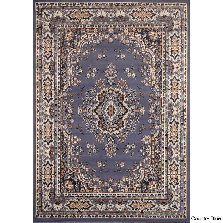 Home Dynamix Ivory Premium Collection Traditional Polypropylene Machine Made Area Rug
