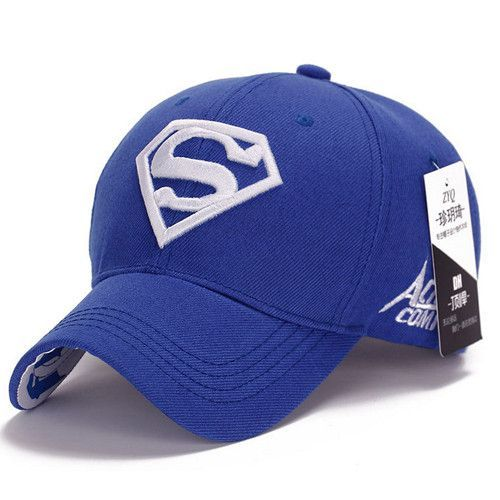 2015 Brand Superman Baseball Cap Unisex Adjustable Cotton Snapback Caps Men Sport Hats for Women Outdoor Sun Hat