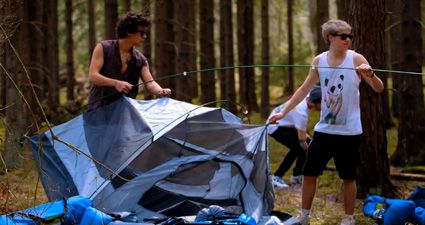One Direction This Is Us. Ok ok ok ummm.... No. I'm from the south so seeing them do this is killing me with feels.