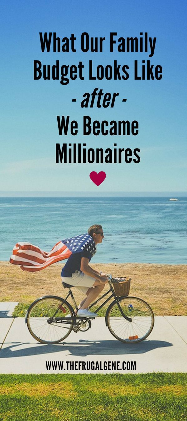 My husband and I crossed over and became millionaires this month, let's see what our family budget (income, expenses etc.) looks like for the month!