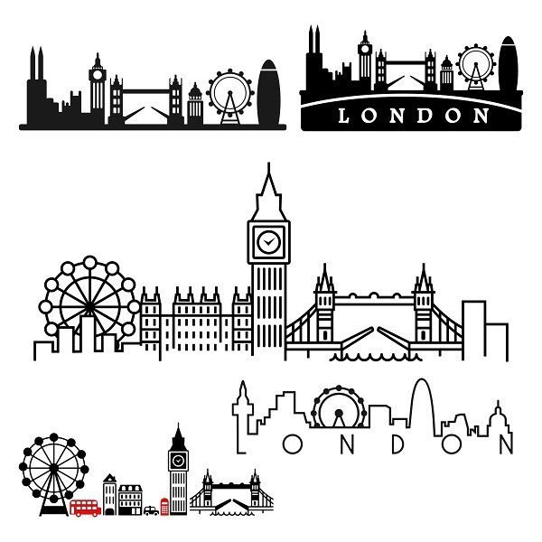Line Drawing Tattoo London : The best london skyline ideas on pinterest
