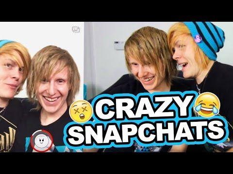 REACTING TO CRAZY SNAPCHATS - YouTube
