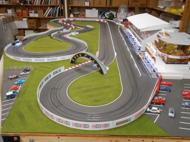 Remote Control Slot Car Racing