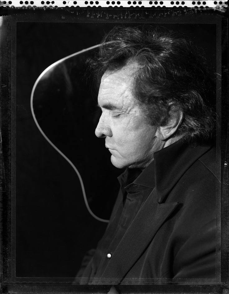 Johnny Cash shot by Danny Clinch
