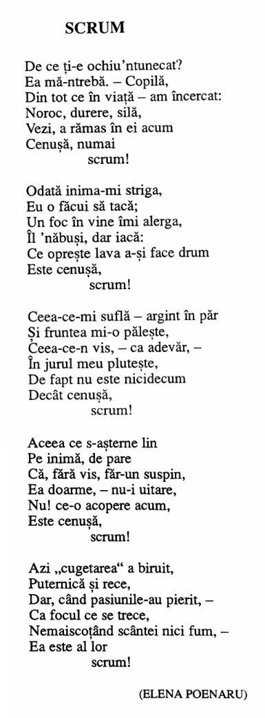 Carmen Sylva - Scrum