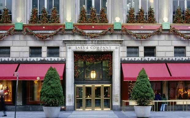 One of the world's great department stores, Saks Fifth Avenue. Saks will be expanding into Canada: http://www.retail-insider.com/retail-insider/tail-insider.com/2013/07/saks-fifth-avenue-likely-to-open-in.html