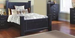 Annifern queen poster bed bedroom love pinterest beds poster beds and flyers for Annifern poster bedroom collection