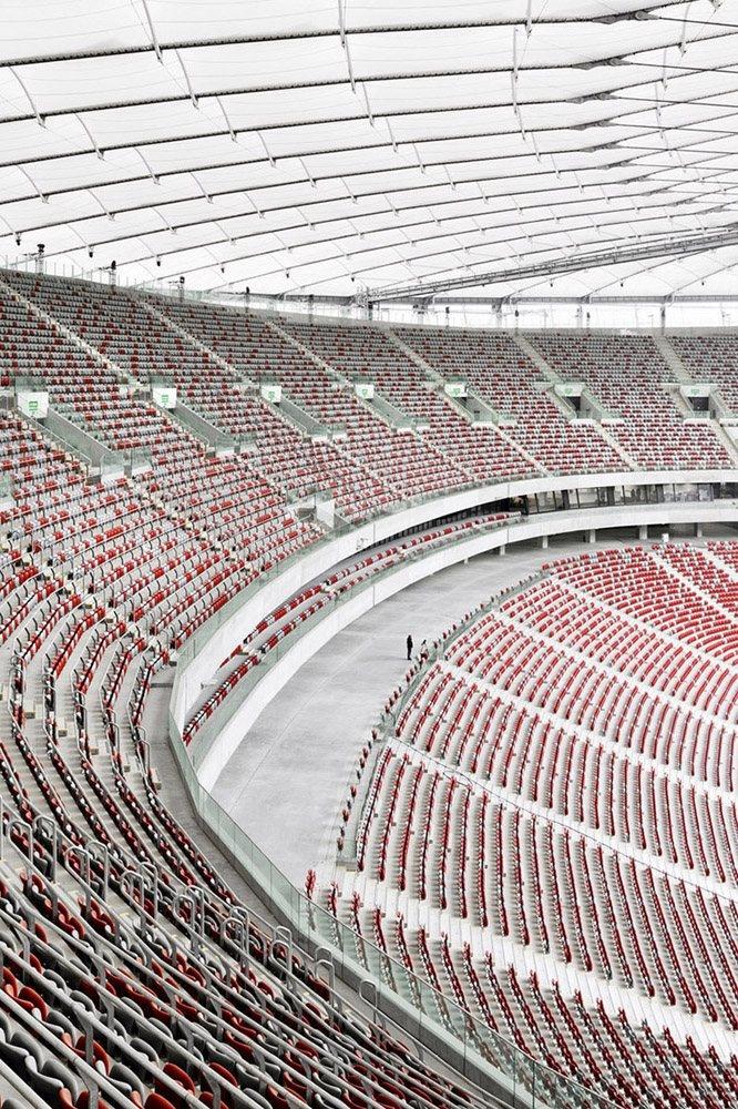 National Stadium Warsaw // gmp Architekten // Warsaw, Poland