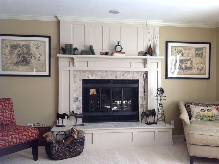 55 best Fireplace redo images on Pinterest   Fireplace ideas ...