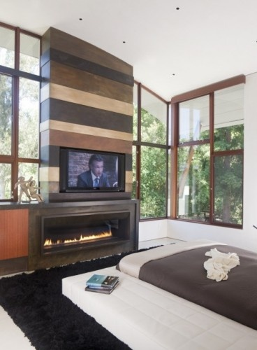 Tv Above Fireplace In Picture Design Ideas