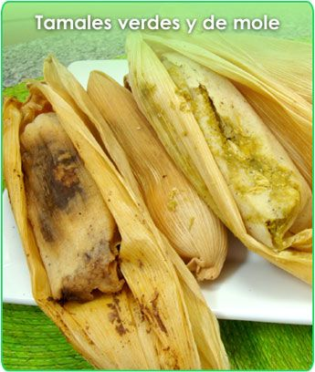 Oh yes! the amazing #Tamal! The heavenly soft warm dough mixed with a spicy green salsa or mole. Perfect combination.