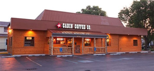 My dream job  to own a Cabin Coffee Company