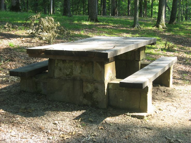 32 Best Concrete Picnic Tables Images On Pinterest