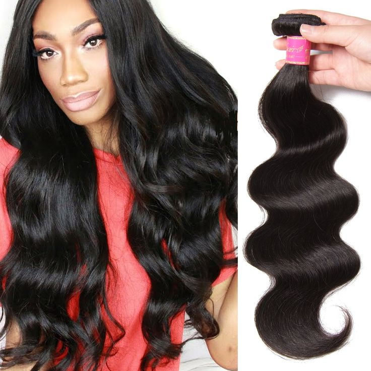 Ali Julia Hair 8a Brazilian Body Wave One Bundle Unprocessed 100% Virgin Human Weave Hair Extensions Natural Black Color 26 Inch