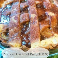 Finally a pie crust that works on the Trim Healthy Mama plan that tastes good…..Now let the many variations of pie making begin, and let it be delicious!! This makes a nice dense, but someho…