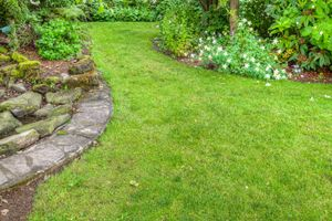 Inexpensive Landscape Borders | Stretcher.com - How to create cheap landscape edging