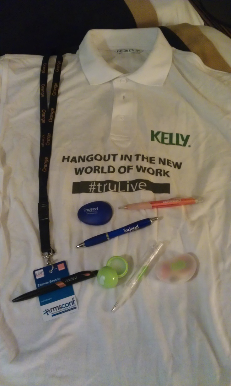 Cool swag from #TruLondon 6 and #RMSconf (October 2012).